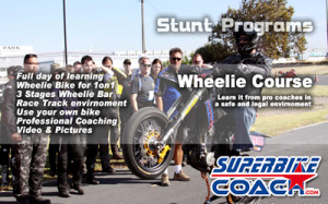 Superbike-Coach Wheelie Course small