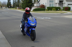 How to learn to ride a motorcycle
