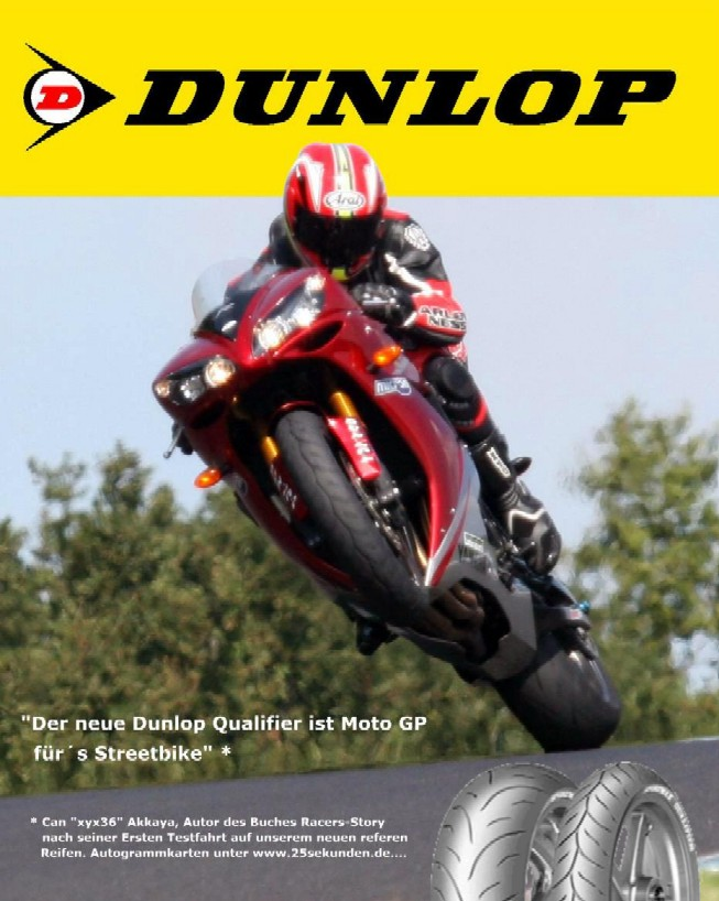 Can Akkaya raced and coaches on Dunlop tires